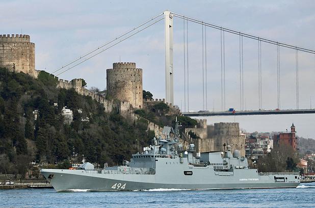 Tensions en Syrie: la Russie envoie deux navires de guerre en Méditerranée