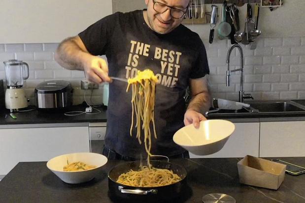 Chef Felice Miluzzi maakt kookvideo's in quarantaine: 'Achter imperfectie zit perfectie'