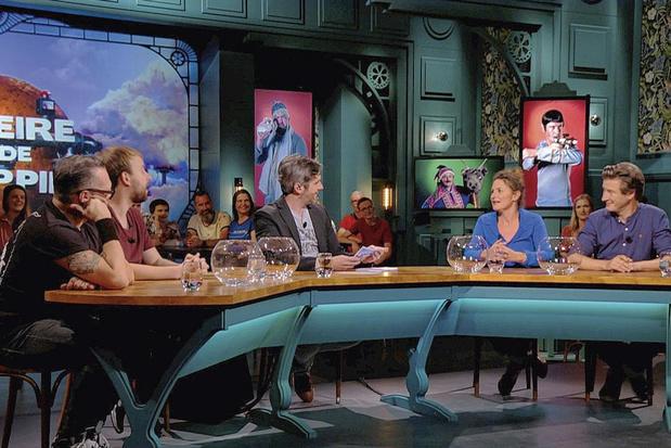 Lieven Scheire en zijn gasten bedrijven comedy op speed in 'Scheire en de Schepping'