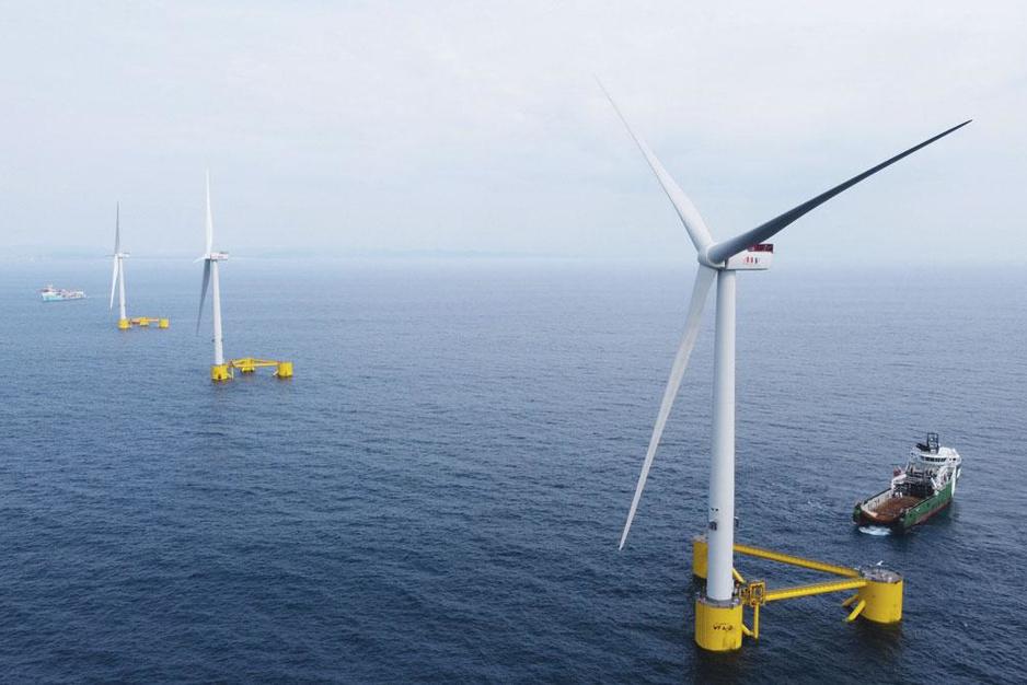 Belgen spelen hoofdrol in drijvende windturbines