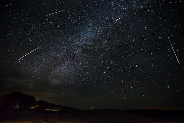Les Perséides Observer Les étoiles Filantes En Août