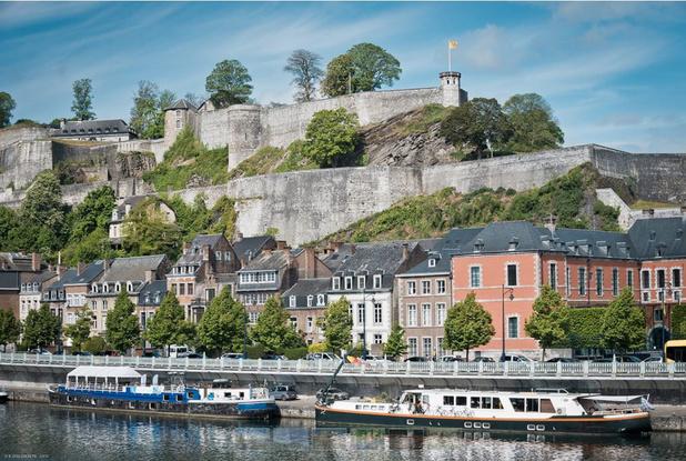 Des balades artistiques au coeur de la Citadelle de Namur