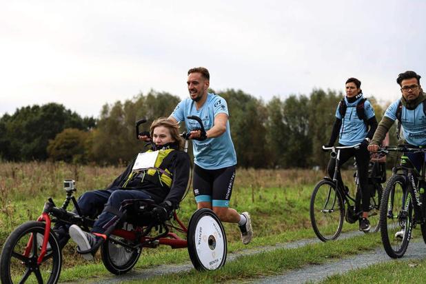 Ultrakid en ultraman verbeteren Belgisch record marathon met rolstoel
