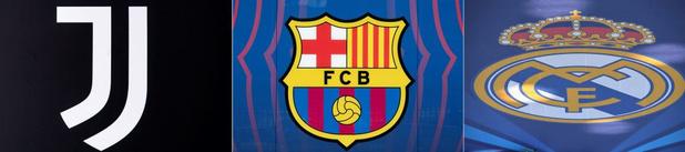Super League: la Juve, le Barça et le Real répliquent