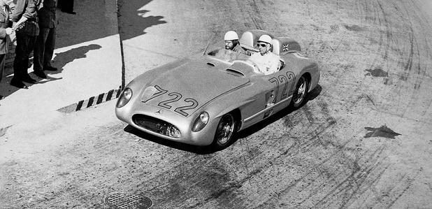 Mercedes honore la mémoire de Stirling Moss au Goodwood Revival