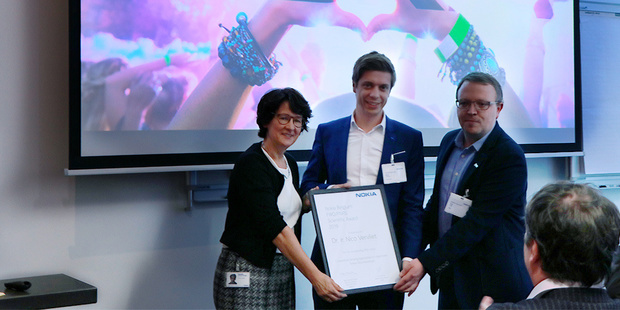 Doctoraat rond tensorontbindingen wint Nokia Bell Scientific Award