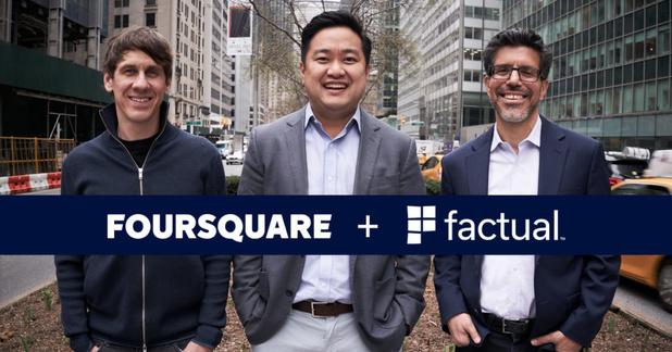 Foursquare s'associe à Factual