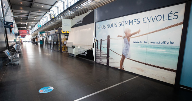 Sans surprise, il y a eu deux fois plus de passagers à l'aéroport de Charleroi en juillet que l'an dernier