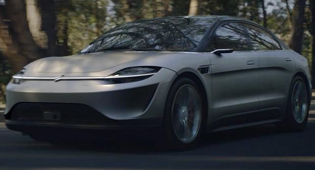 Sony toont een elektrische wagen