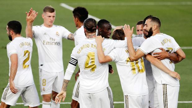 Le Real Madrid, avec Hazard et Courtois, remporte son 34e titre de champion d'Espagne