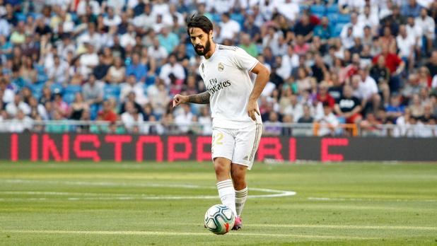 La poisse continue au Real: après Hazard, Asensio et James, Isco blessé à son tour