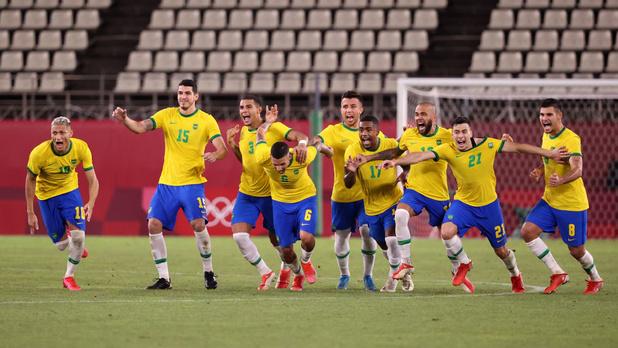 Tokyo 2021 - Football: Le Brésil vient à bout du Mexique et affrontera l'Espagne en finale