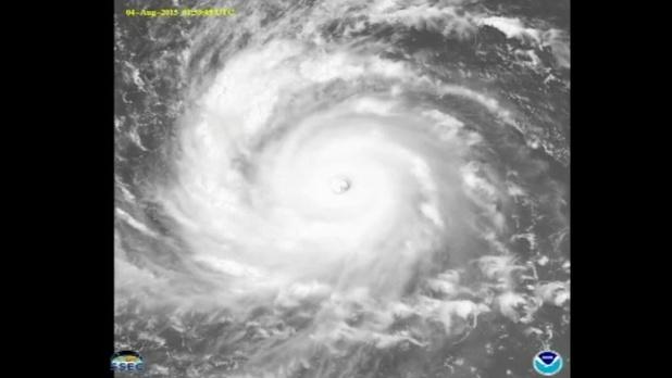 Nieuwe tyfoon gaat richting Japan