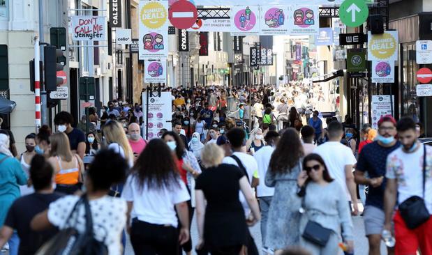Bekendste winkelstraat van Brussel zit in een nieuw jasje