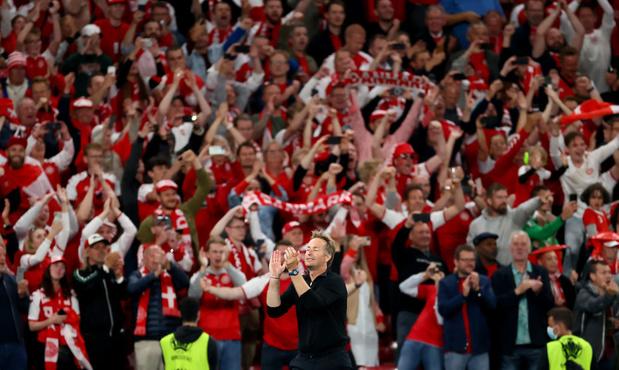 Kasper Hjulmand encense le public danois après la qualification de son équipe