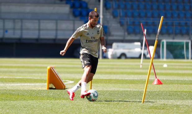 """Eden Hazard: """"Très heureux d'être de retour sur le terrain"""" (vidéo)"""