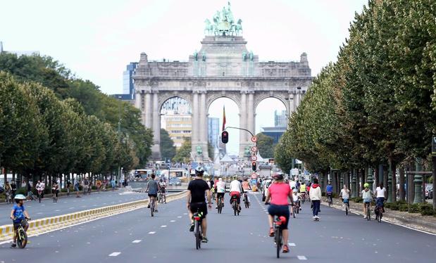 Post-corona Brussel krijgt fiets- en wandelapps