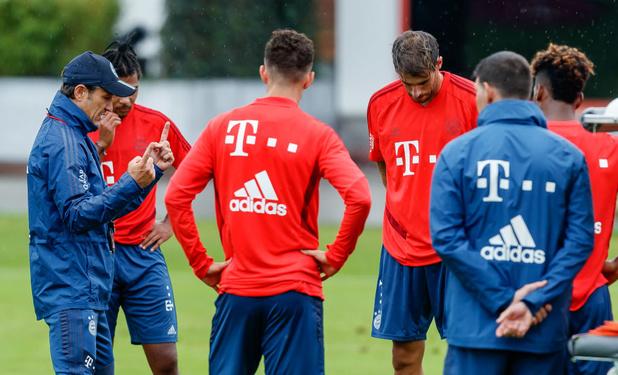 Le Bayern déjà en session de rattrapage