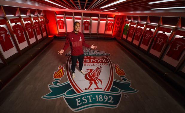 Virgil van Dijk prolonge son bail à Liverpool jusqu'en 2025