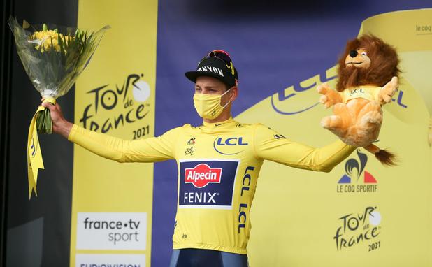 Tour de France: Alaphilippe et Van Aert en quête du maillot jaune sur le contre-la-montre
