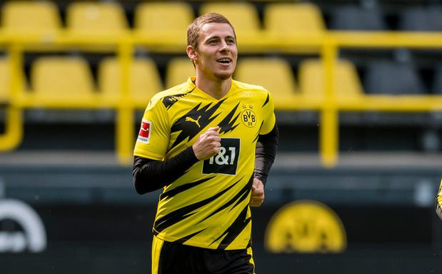Thorgan Hazard est le nouveau numéro 10 du Borussia Dortmund