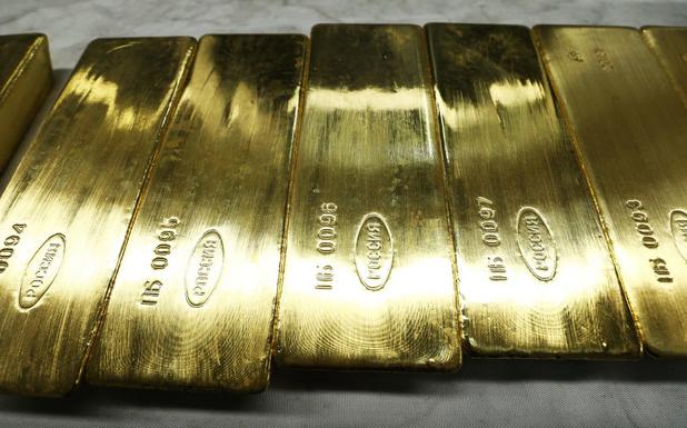 L'once d'or au-dessus de 1.500 dollars pour la première fois depuis 2013