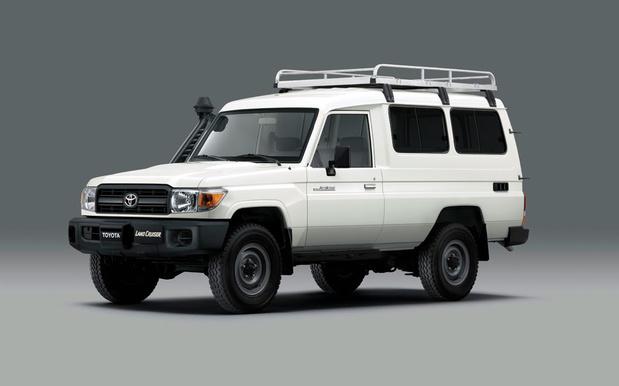 """Le 4x4 """"spécial vaccins"""" de Toyota"""