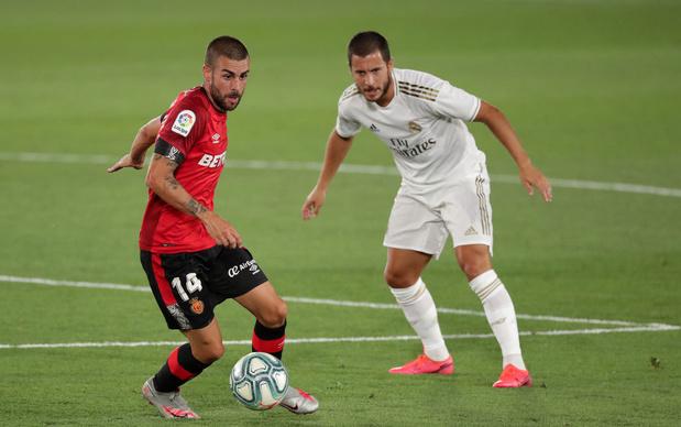 Le Real, avec Hazard et Courtois, bat Majorque et reprend la tête de La Liga