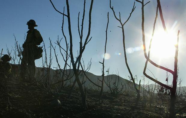 Wijngebied Napa Valley in Californië getroffen door bosbranden