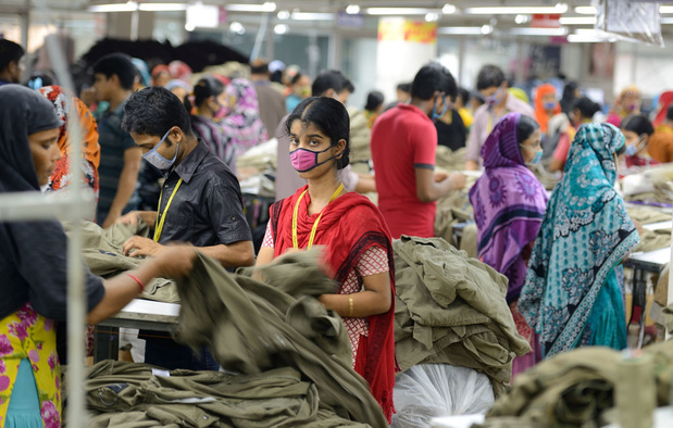 Ontslagen zonder vergoeding: kledingarbeiders lopen half miljard dollar mis