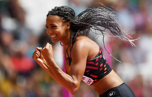 Nafissatou Thiam est la sportive préférée des Belges