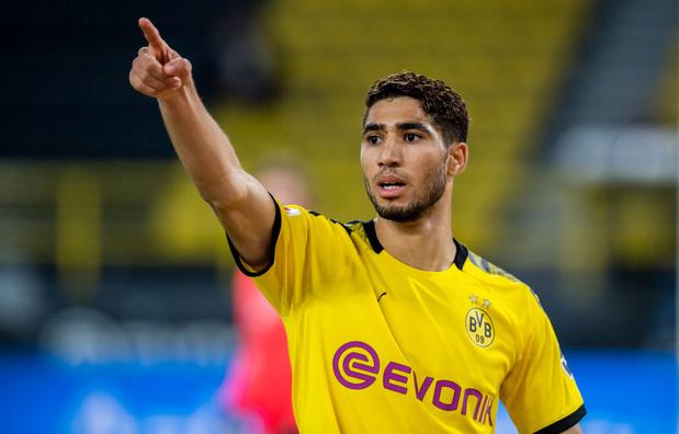Achraf Hakimi va quitter Dortmund