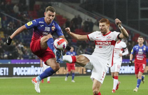 Retour sur l'étonnant transfert de Maximiliano Caufriez au Spartak Moscou