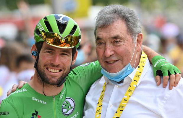 Merckx souhaite un 35e bouquet pour Cavendish et adoube Pogacar
