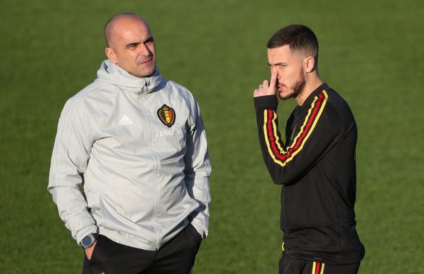 "Roberto Martinez: ""La blessure d'Eden Hazard n'est pas anodine"""