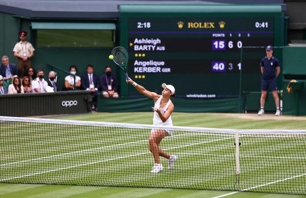 Wimbledon: Ashleigh Barty, première finaliste
