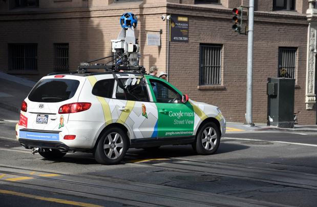Google Street View-wagens rijden weer door België