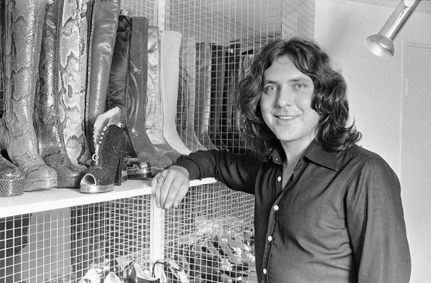 Beroemde Britse schoenenontwerper Terry de Havilland (81) overleden