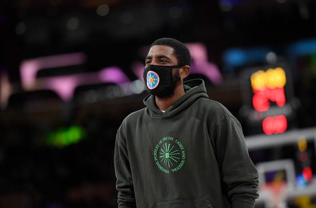 Kyrie Irving qui refuse le vaccin pourra-t-il jouer les matches des Nets à domicile ?