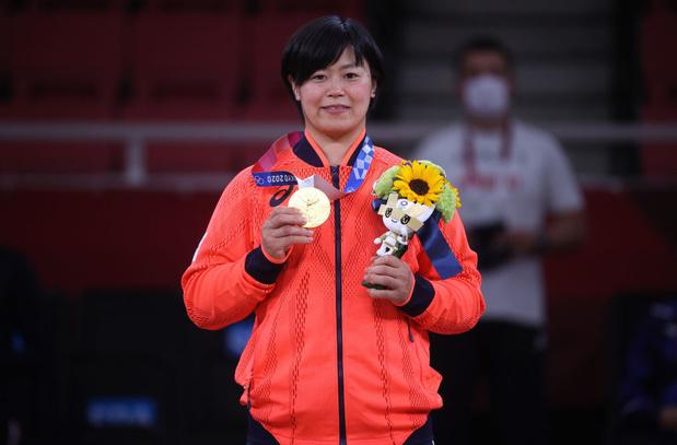 Hamada et Wolf apportent deux nouvelles médailles d'or au judo japonais qui en compte huit