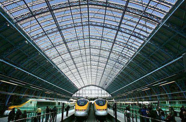Eurostar krikt treinfrequentie tussen Londen en Brussel weer op