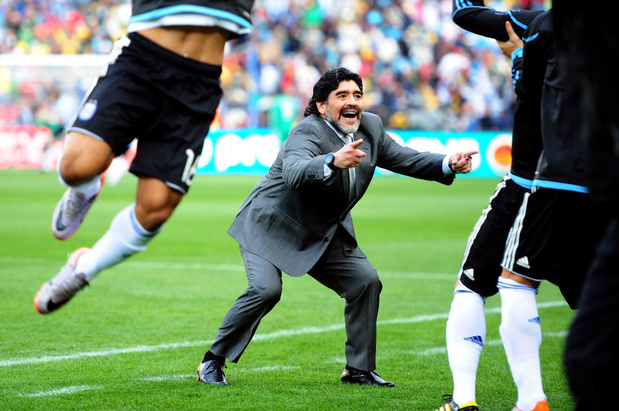 Maradona a (aussi) été un grand entraîneur (pas longtemps)