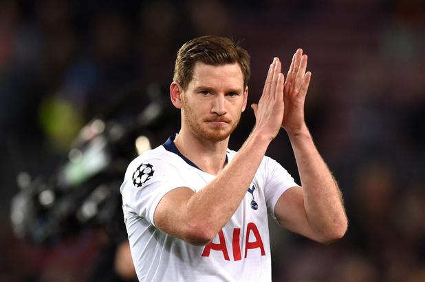 Jan Vertonghen annonce son départ de Tottenham
