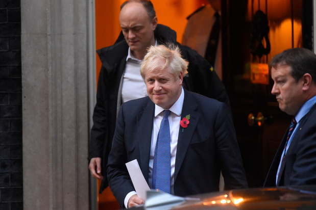 """Brexit: Johnson demande à l'UE d'exclure """"un autre report après le 31 janvier"""""""