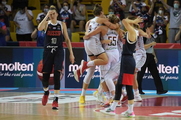 Emma Meesseman super tsar, les Belgian Cats en demi-finale de l'Euro de basket !