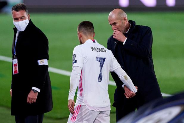 Zinédine Zidane donne des nouvelles d'Eden Hazard