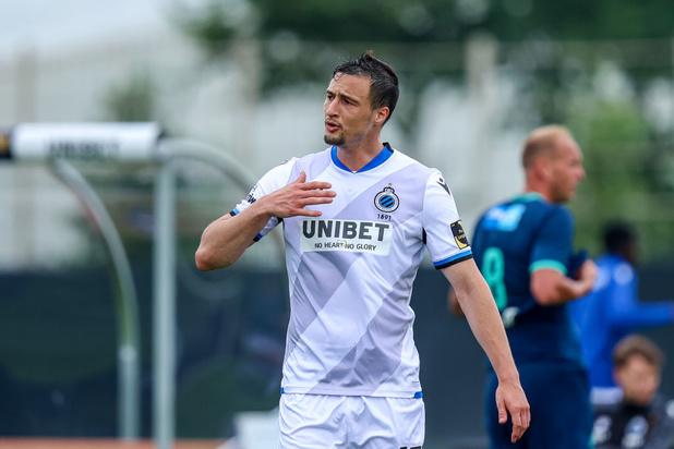 Matej Mitrovic prolonge à Bruges jusqu'en 2024