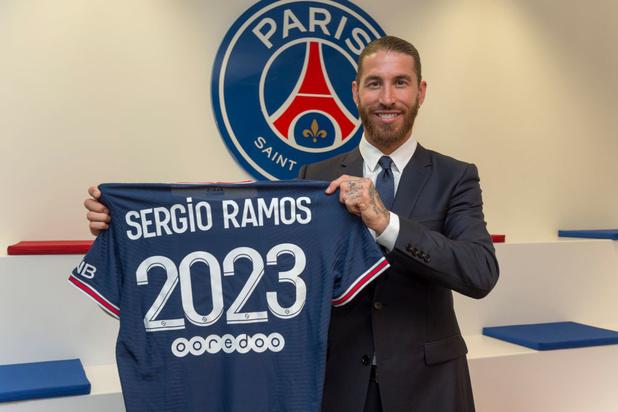 Mercato: Sergio Ramos débarque officiellement au PSG