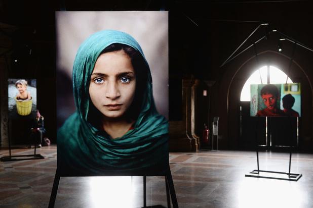Werk van beroemde fotojournalist Steve McCurry meert aan in Antwerpen