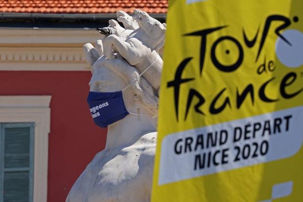 Le Tour de France sera masqué dans les Landes